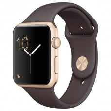 Смарт-часы Apple Watch S2 Sport 42mm Gold Al/Cocoa (MNPN2RU/A)