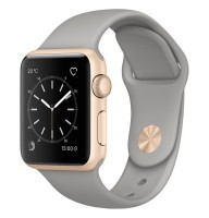Смарт-часы Apple Watch S1 Sport 38mm Gold Al/Concrete (MNNJ2RU/A)