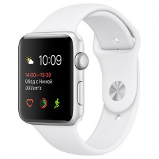 Смарт-часы Apple Watch S1 Sport 38mm Silver Al/White (MNNG2RU/A)
