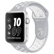 Смарт-часы Apple Watch Nike+ 42mm Silver Al/White (MNNT2RU/A)
