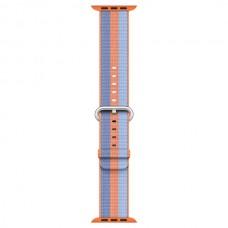 Ремешок Apple 42mm Orange Woven Nylon (MPW22ZM/A)
